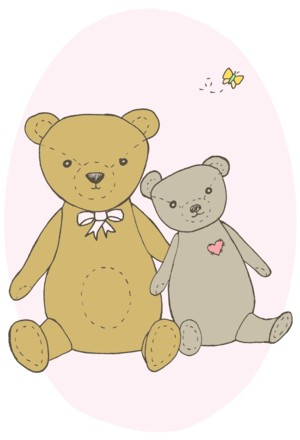 Baby Bears: Pink