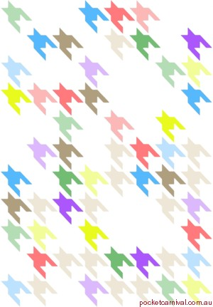 Houndstooth Rainbow