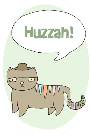 Talking Cat - Huzzah!