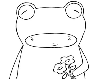 dave and ava 5 frogs printable templates